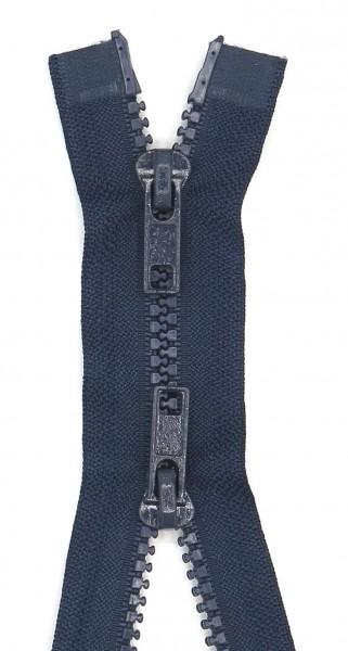 Jackenreißverschluss 2-Wege Delrinschiene 60cm