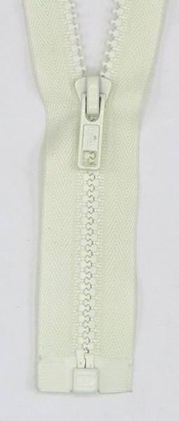 Jackenreißverschluss teilbar 60cm Delrinschiene