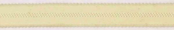 Trägergummi für BH creme- Meterware
