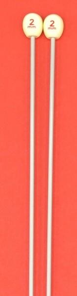 2 Stricknadeln 30cm lang