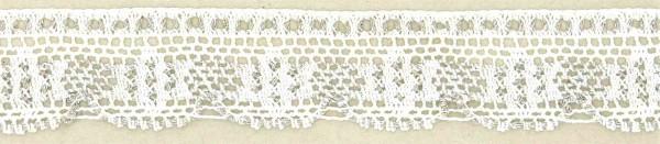 Spitze Baumwolle-Lurex 3cm breit