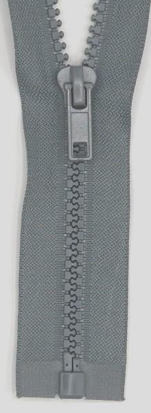 Jackenreißverschluss teilbar 45cm Delrinschiene