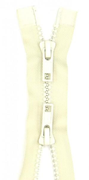 Jackenreißverschluss 2-Wege Delrinschiene 65cm