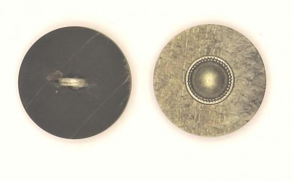 Zierknopf Metalleinlage 1.