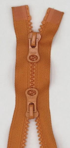 Jackenreißverschluss 2-Wege Delrinschiene 55cm