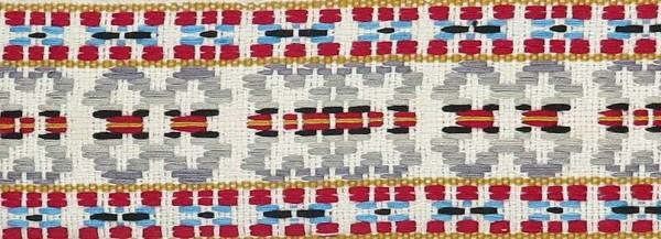 """Borte """"Indianer-Look"""" 1. 2 Meter"""