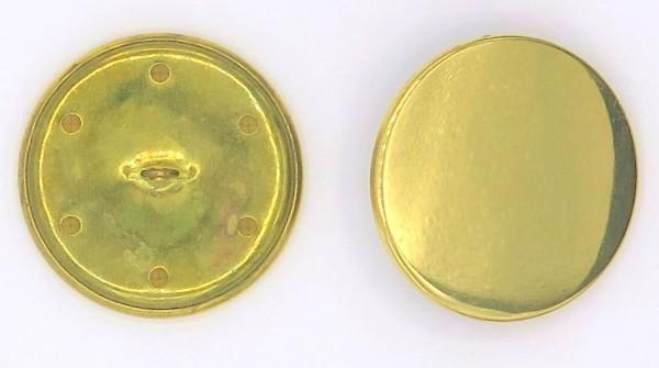Uniformknopf gold glänzend SOPO 35mm