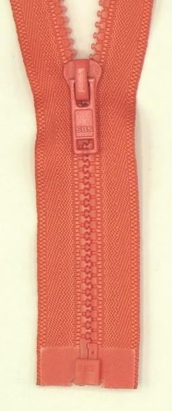 Jackenreißverschluss teilbar 75cm Delrinschiene
