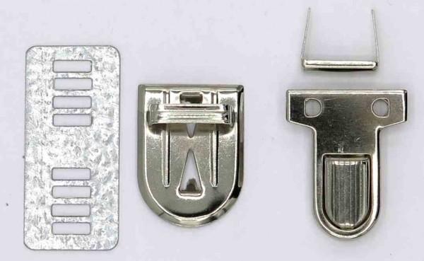 Taschensteckverschluss 26mm