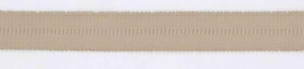 Trägergummi für BH hautfarben 18mm breit - Meterware