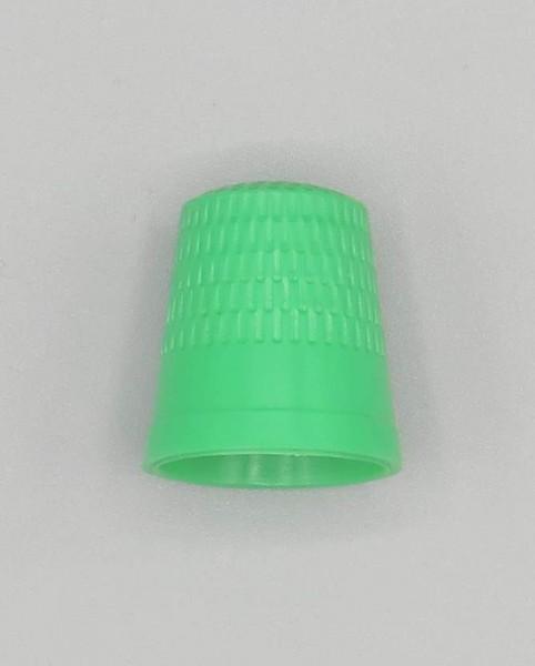 Fingerhut Kunststoff grün