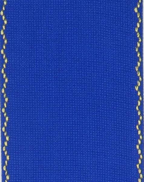 Stickband 10cm royalblau