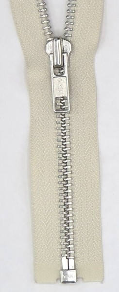 Jackenreißverschluss teilbar 55cm Metall