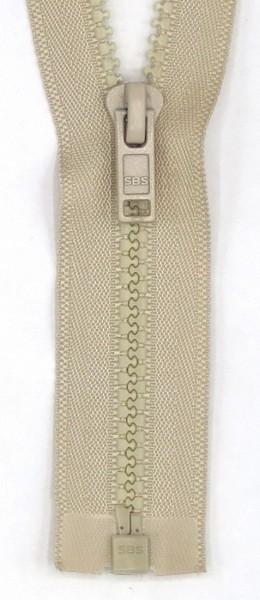 Jackenreißverschluss teilbar 50cm Delrnschiene