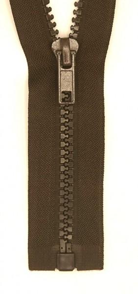 Jackenreißverschluss teilbar 70cm Delrinschiene