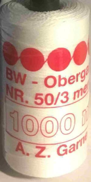 Baumwoll-Nähgarn 1000m Rolle weiß