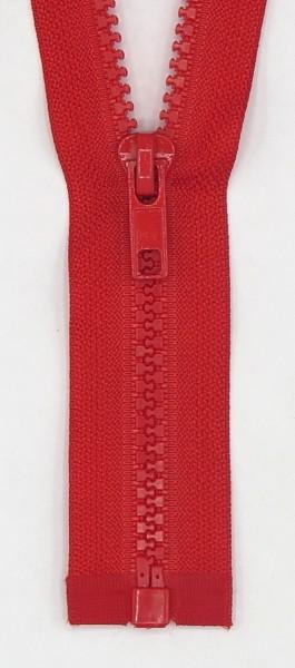 Jackenreißverschluss teilbar 40cm Delrinschiene