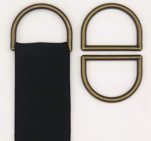 D-Ringe Kunststoff 6 Stück