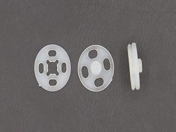 Druckknöpfe Kunststoff schwarz Ø13mm