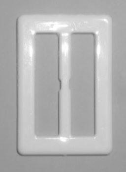 Gürtelschließe Kunststoff eckig 1