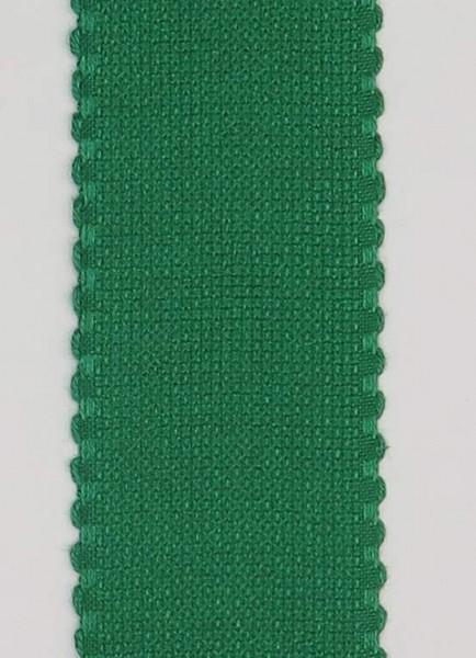 Stickband 5cm breit grün